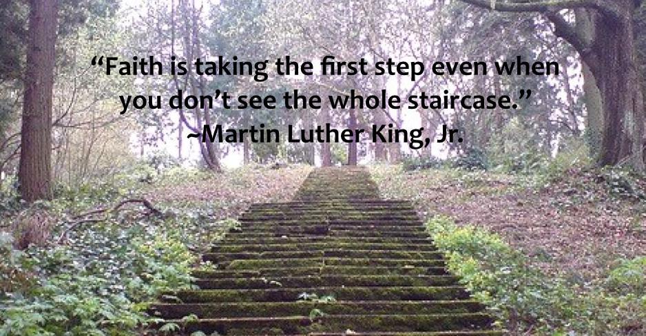 pierwszy krok luter king